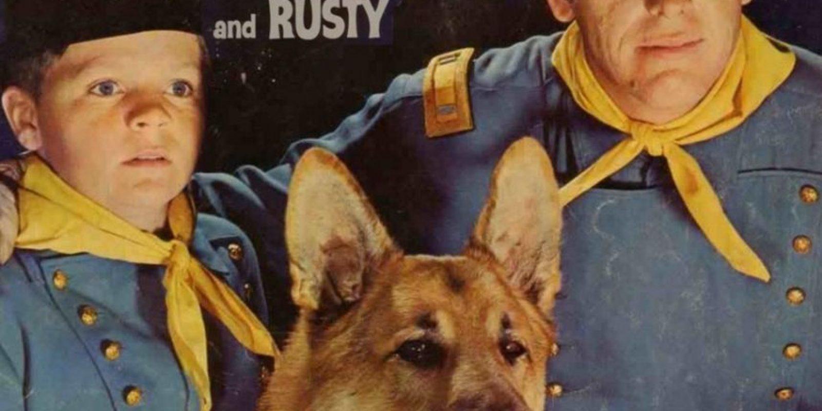Las aventuras de Rin Tin Tin. El famoso perro ovejero tiene una estrella en el Paseo de la Fama de Hollywood Foto:Tumbrl