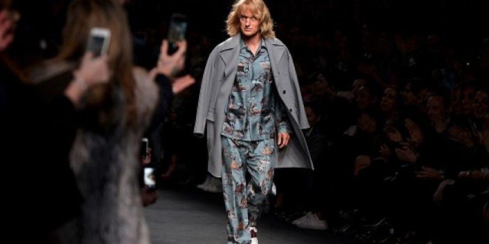 Otras escenas fueron grabadas en la Semana de la Moda en París Foto:Getty Images