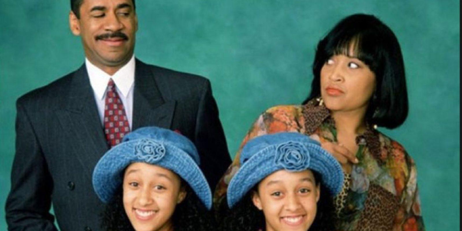 """Tía y Tamera Mowry eran """"Tía y Tamera Campbell"""" en """"Hermana, Hermana"""". Foto:vía ABC"""