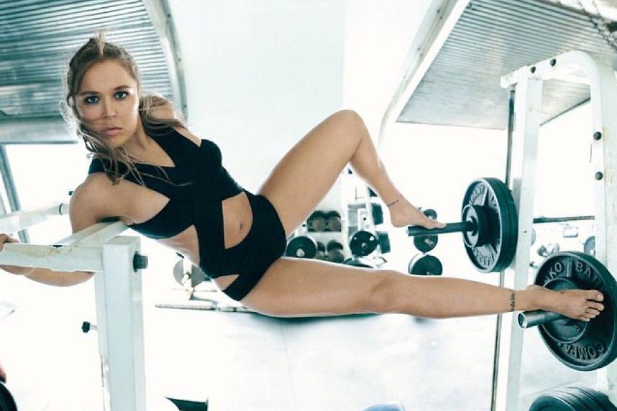 1. Se han terminado las rivales femeninas que aspiren a su título Foto:Vía instagram.com/rondarousey