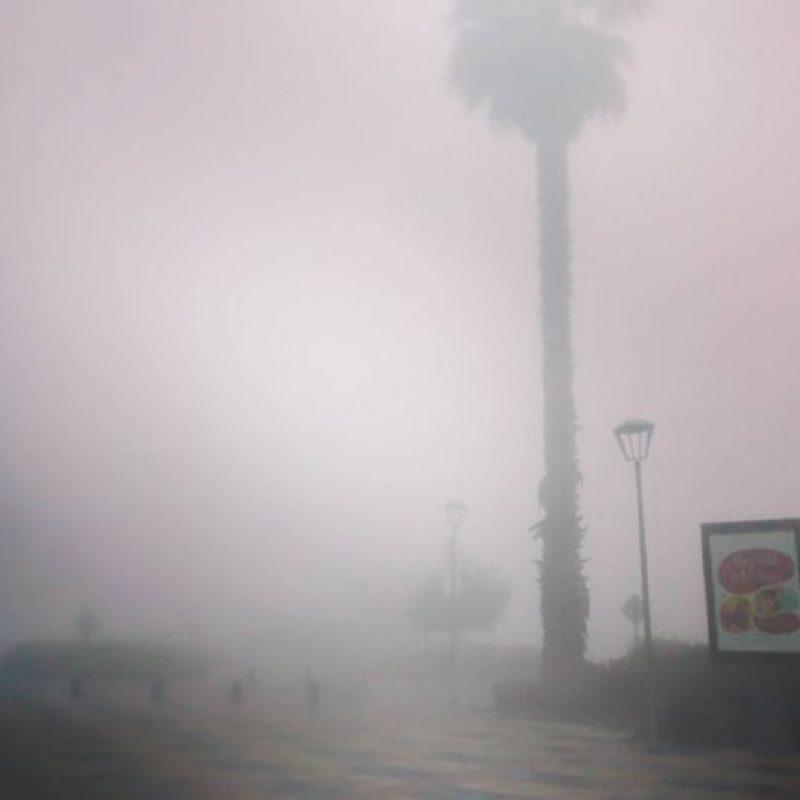 Niebla. Foto:vía Instagram