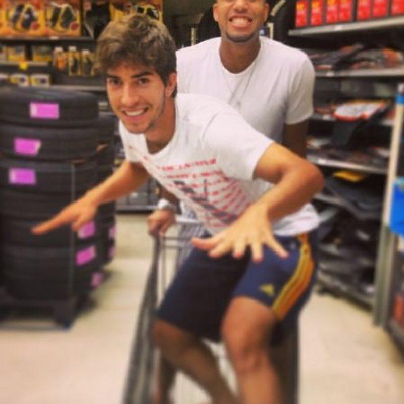 En 2012, con 19 años, fue cedido al Nacional Esporte Clube. Foto:Vía instagram.com/16lucassilva