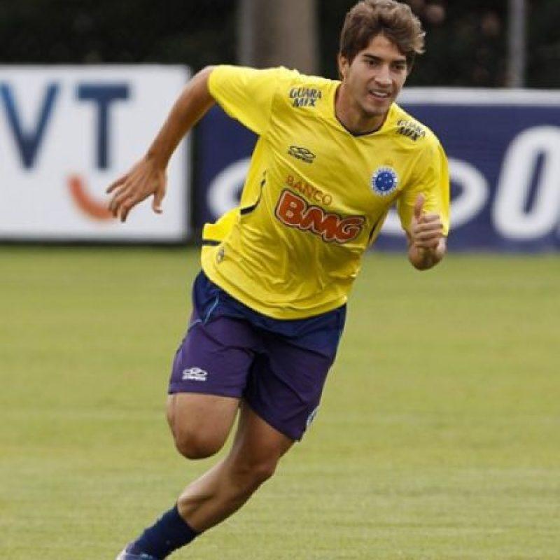 A los 14 años, ingresó a las fuerzas básicas del Cruzeiro. Foto:Vía instagram.com/16lucassilva