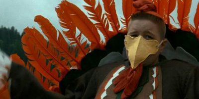 """Pero siempre será recordado por la frase: """"Soy un pavo, mátenme"""". Foto:vía Paramount Pictures"""