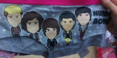 """Una fan de """"One Direction"""" que se puso esto. Foto:vía Imgur"""