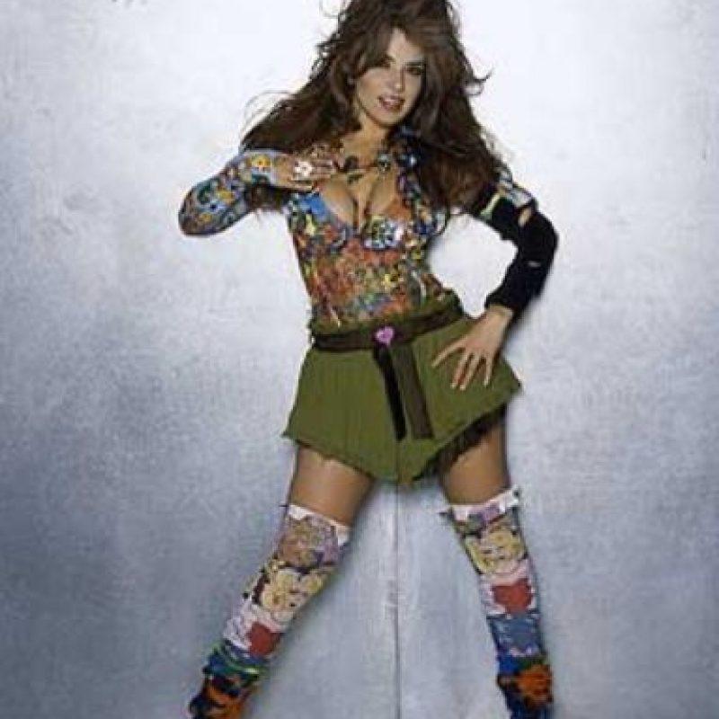 Ella fue como Miley Cyrus hace 20 años. Foto:vía Coveralia
