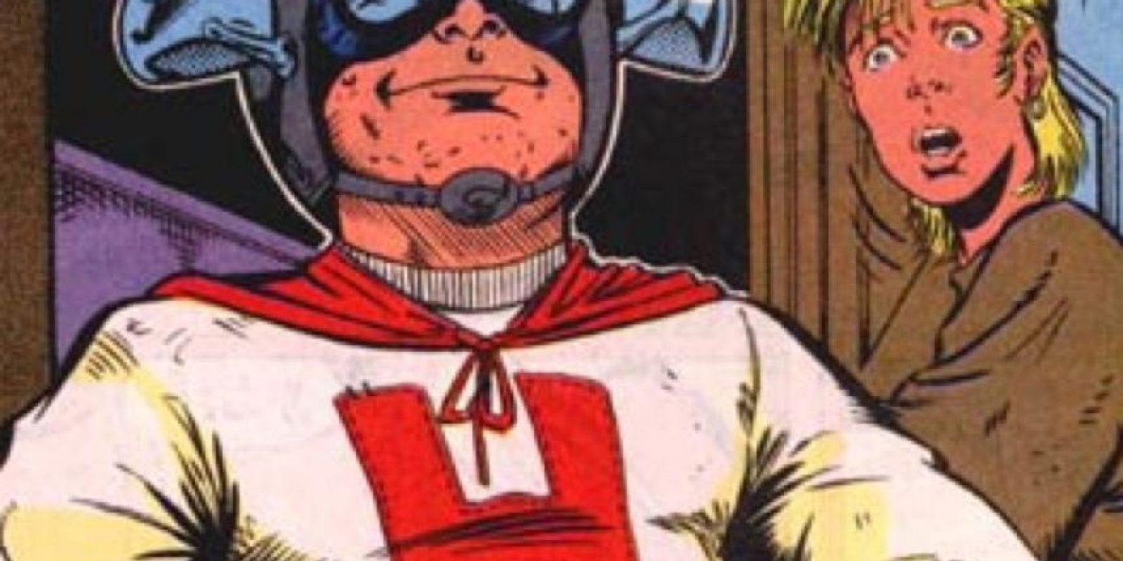 """""""Hingsght Lad"""" apareció incluso en """"Civil War"""" de Marvel. Su único poder es el de saber qué se hubiera hecho en cada situación. Foto:vía Marvel Cómics"""