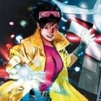"""Júbilo, de los """"X-Men"""". En serio, ¿qué hace esta mujer? ¿Solo echar juegos artificiales como un maestro chino? Foto:vía Marvel"""