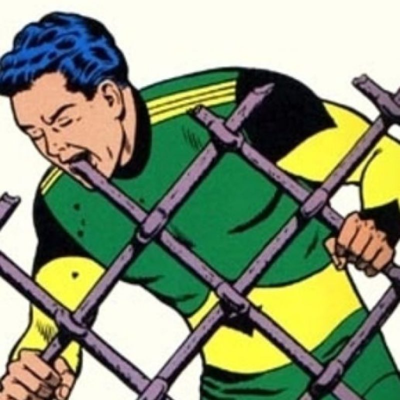 "El ""Comedor de Materia"" es de DC Cómics, apareció en los años 60. Foto:vía DC Cómics"