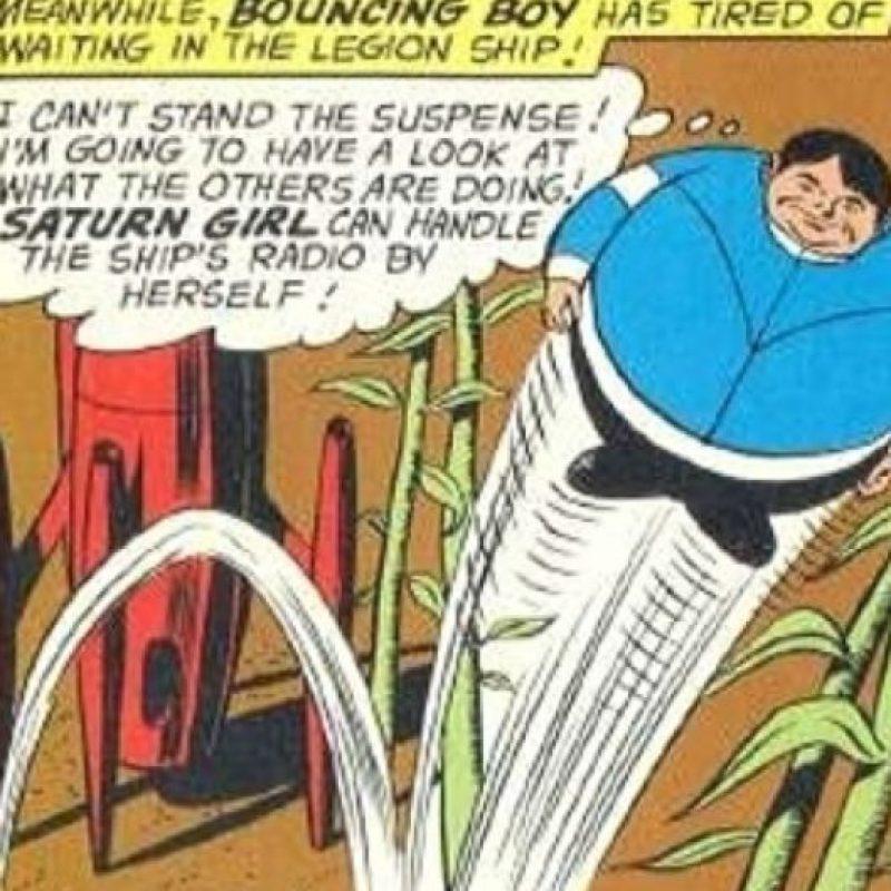 """El """"Chico Rebotador"""" es del siglo 30 y pertenece a DC Cómics. Foto:vía DC Cómics"""