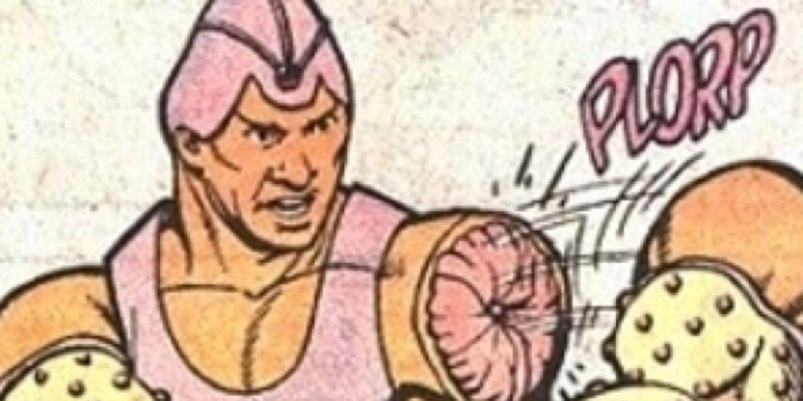 """""""Arm- Fall- Of Boy"""" usa sus brazos como arma. Así como un muñeco de acción. Foto:vía DC Cómics"""