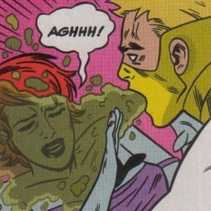 """""""Zeitgeist"""" era un mutante con una habilidad única: vomitar ácido. Foto:vía Marvel Cómics"""