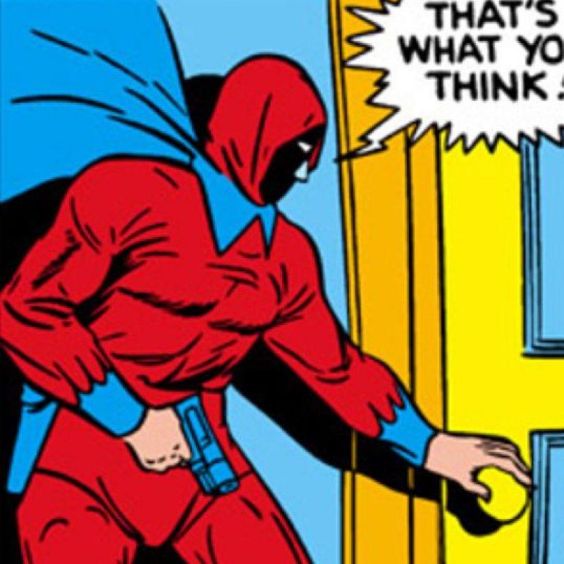 """""""Thunderer"""" podía gritar muy alto, solo por el micrófono que tenía en su cuello. Foto:vía Marvel Cómics"""