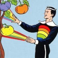 """""""Color Kid"""" cambia de color cualquier cosa que toca. Foto:vía DC Cómics"""