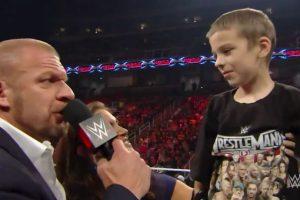 También, ahí, Elijah anunció su nuevo nombre de luchador que será Drax Shadow. Foto:Vía facebook.com/wwe