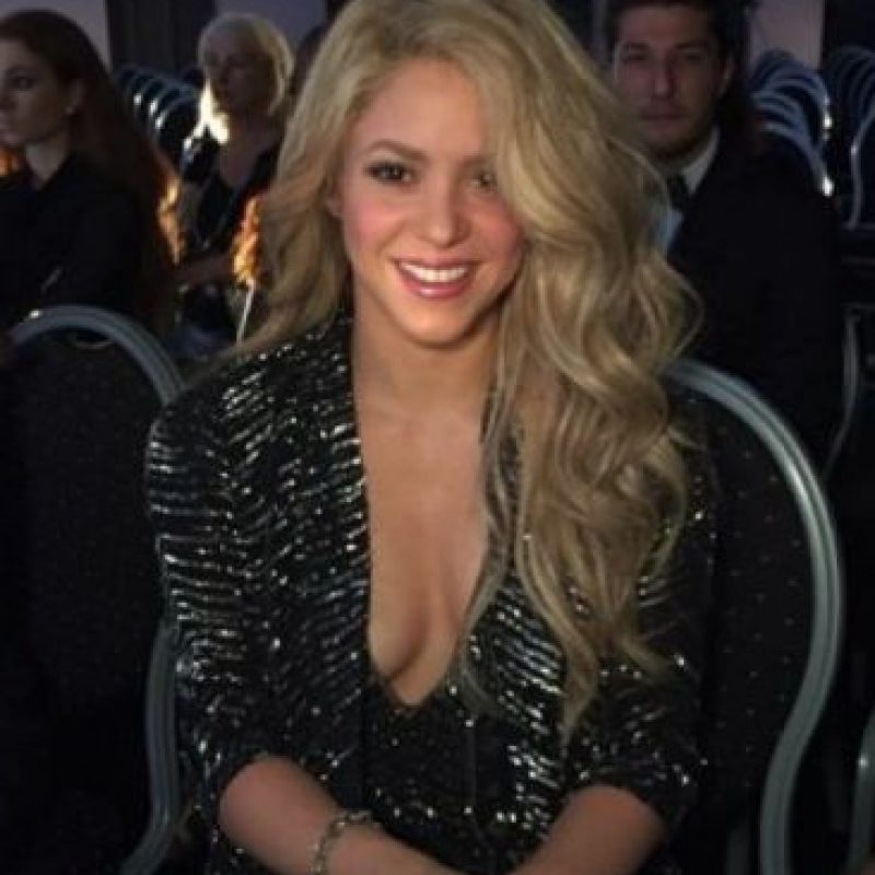 Shakira. Foto: vía Getty Images