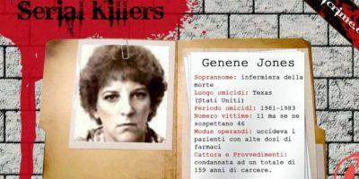 """Genene Jones: """"Baby Killer"""" o """"La Enfermera de la Muerte"""". Mató principalmente a niños y a bebés con digoxina, que acelera el ritmo cardiaco. Les inyectaba esto para después """"salvarlos"""" y quedar como heroína y la descubrieron luego de que se viera que en los dos hospitales que trabajó, la mortalidad infantil incrementaba. Fue condenada en 1984 a cadena perpetua, pero podría salir en 2017 por libertad condicional. Foto:vía HallofCrime"""