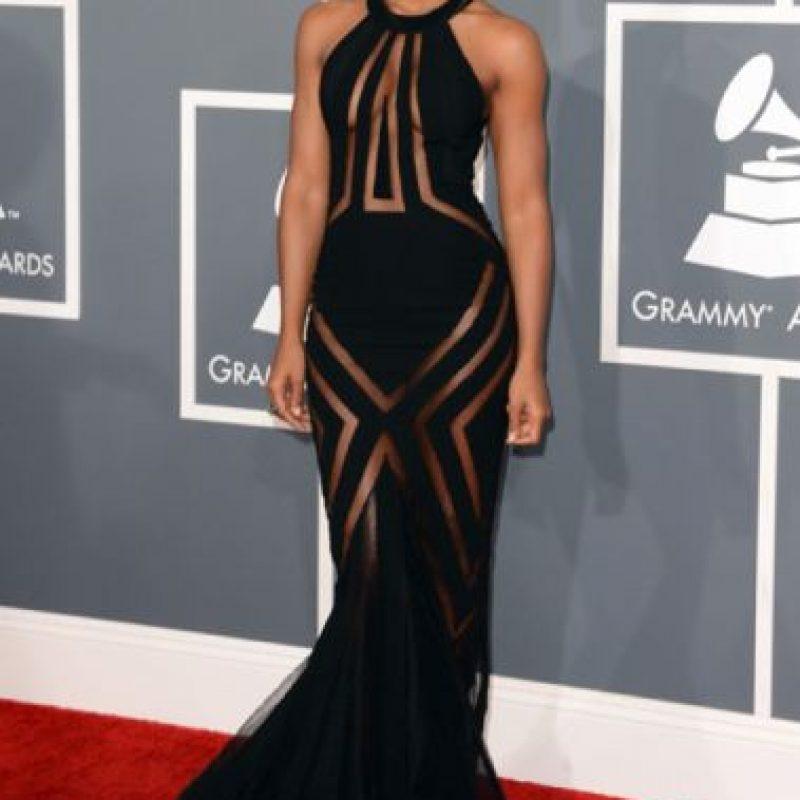 Kelly Rowland, con cutouts Foto:vía Getty Images