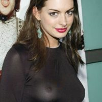 Anne Hathaway y esta belleza. Foto:vía Getty Images
