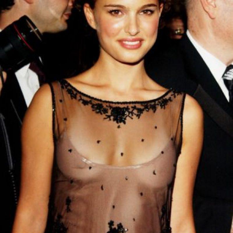 Natalie Portman, muy joven. Foto:vía Getty Images
