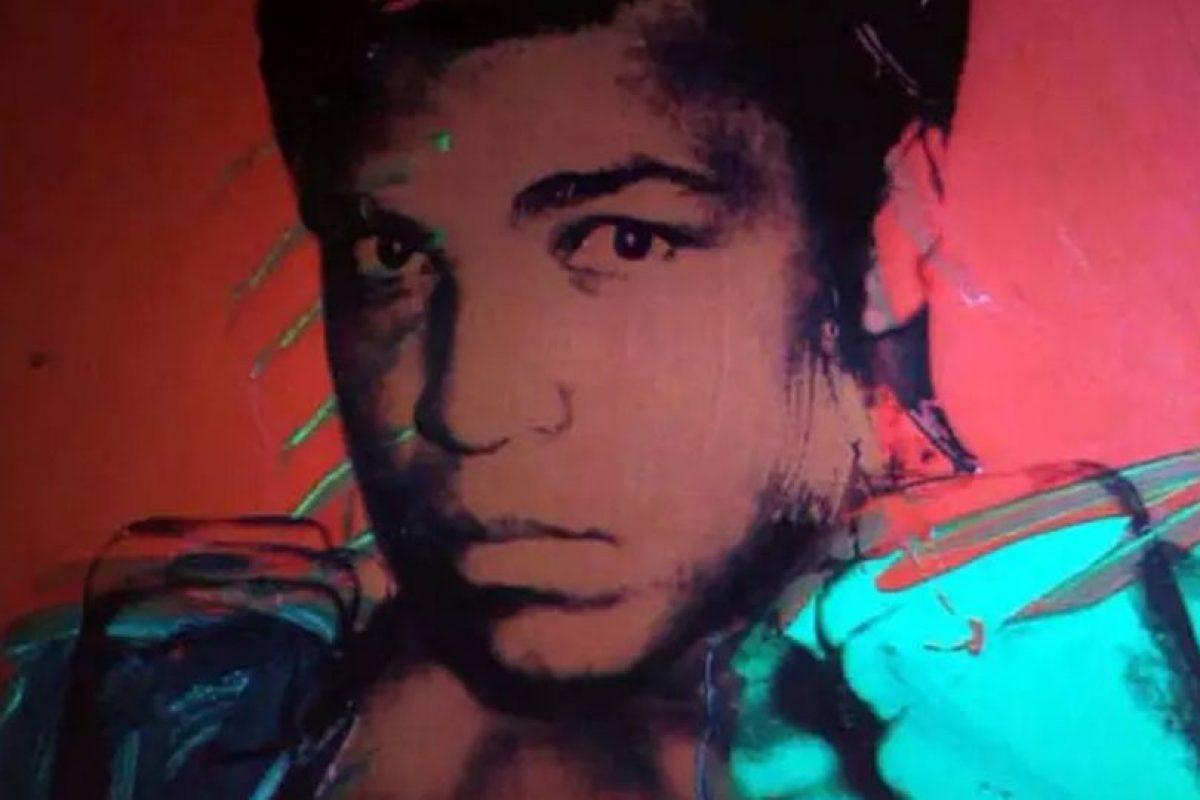 Realizado sobre seda a finales de los 70 Foto:Flickr