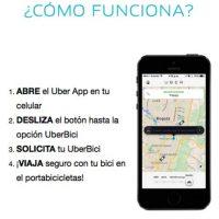 Así de sencillo es pedir el servicio en esta ciudad latina Foto:Uber