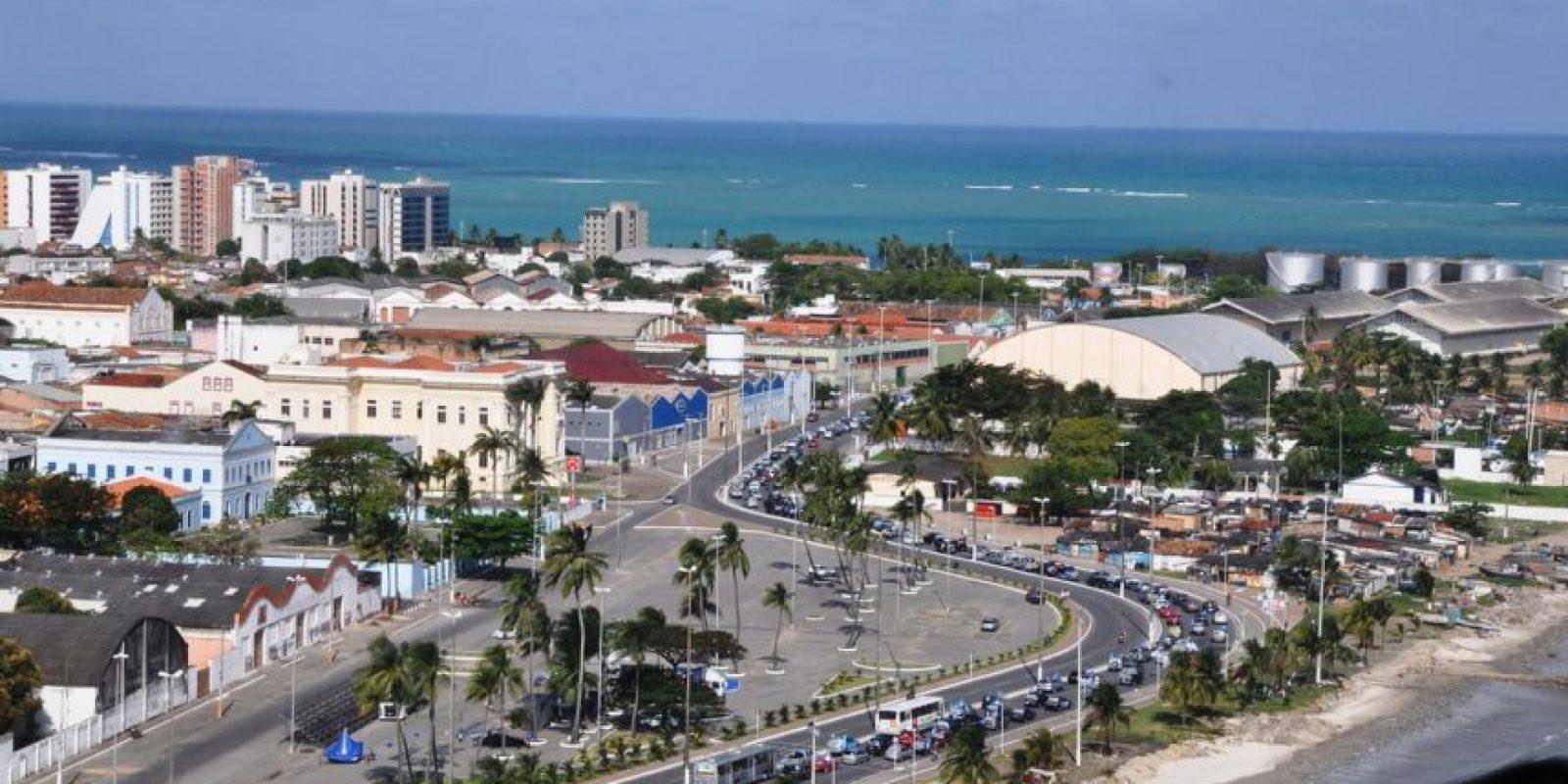 En el estudio la sexta posición la ocupa la ciudad brasileña Maceió, con una tasa del 72.91 por ciento de homicidios por cada 100 mil habitantes. Foto:vía wikipedia.org