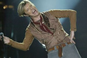 11. David Bowie. Parece su fiel retrato. Foto:Getty Images