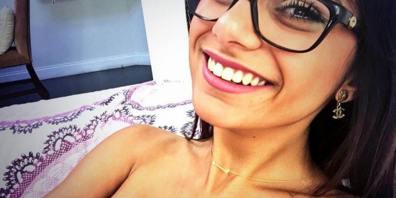 2.- Mia Khalifa debutó en 2014 como actriz porno y obtuvo una gran popularidad a partir de esa fecha Foto:Wikicommons