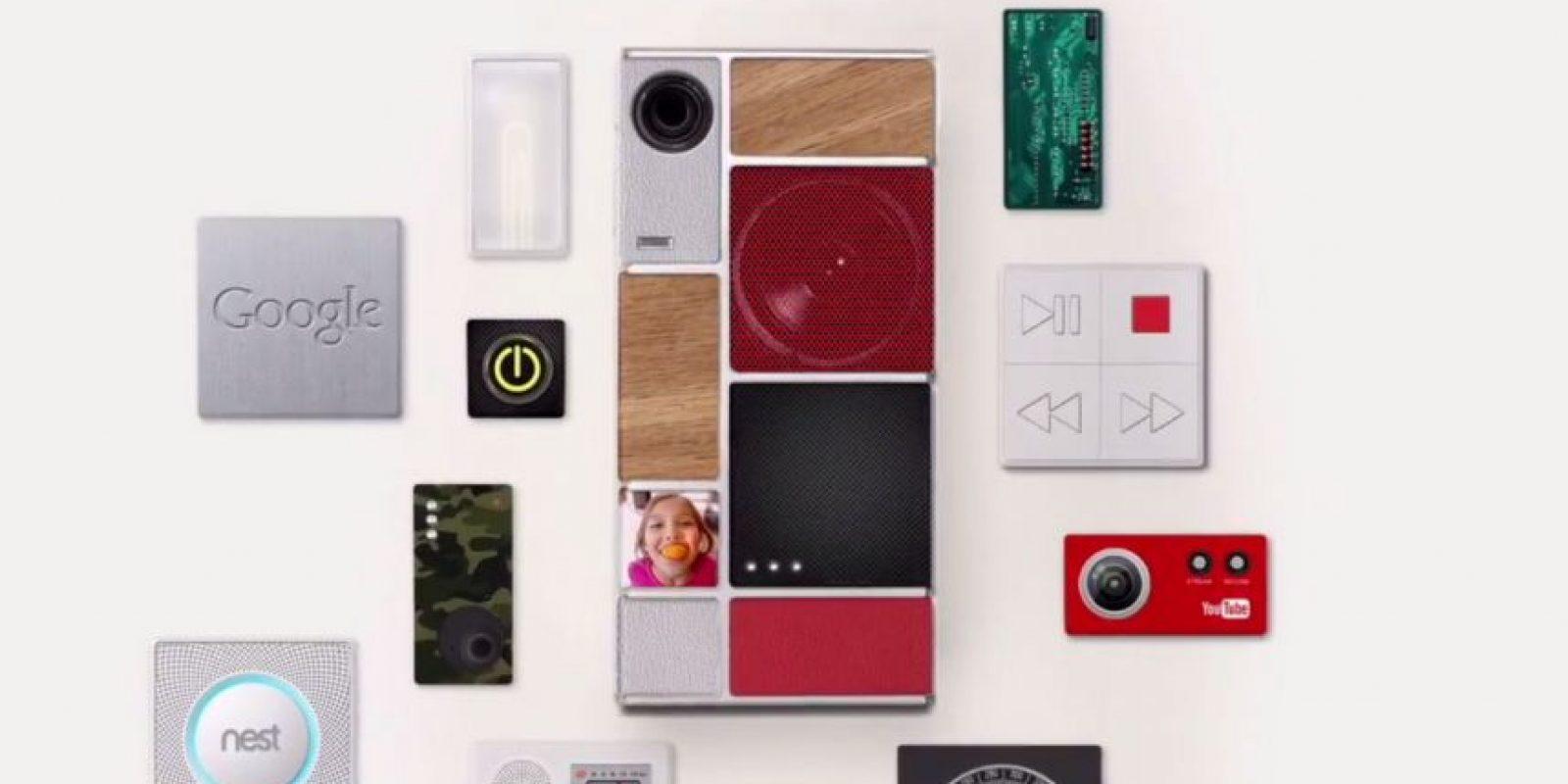 Para la creación de teléfonos inteligentes por modulos Foto:Google