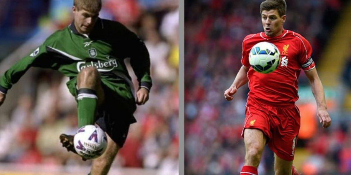 FOTOS: Así ha cambiado Steven Gerrard en 17 años con el Liverpool