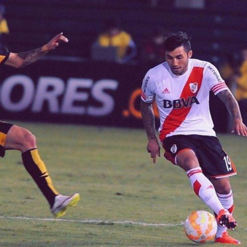 El mediocampista uruguayo disputó los primeros 45 minutos en el partido de ida de la final Foto:Vía instagram.com/tabare_viudez