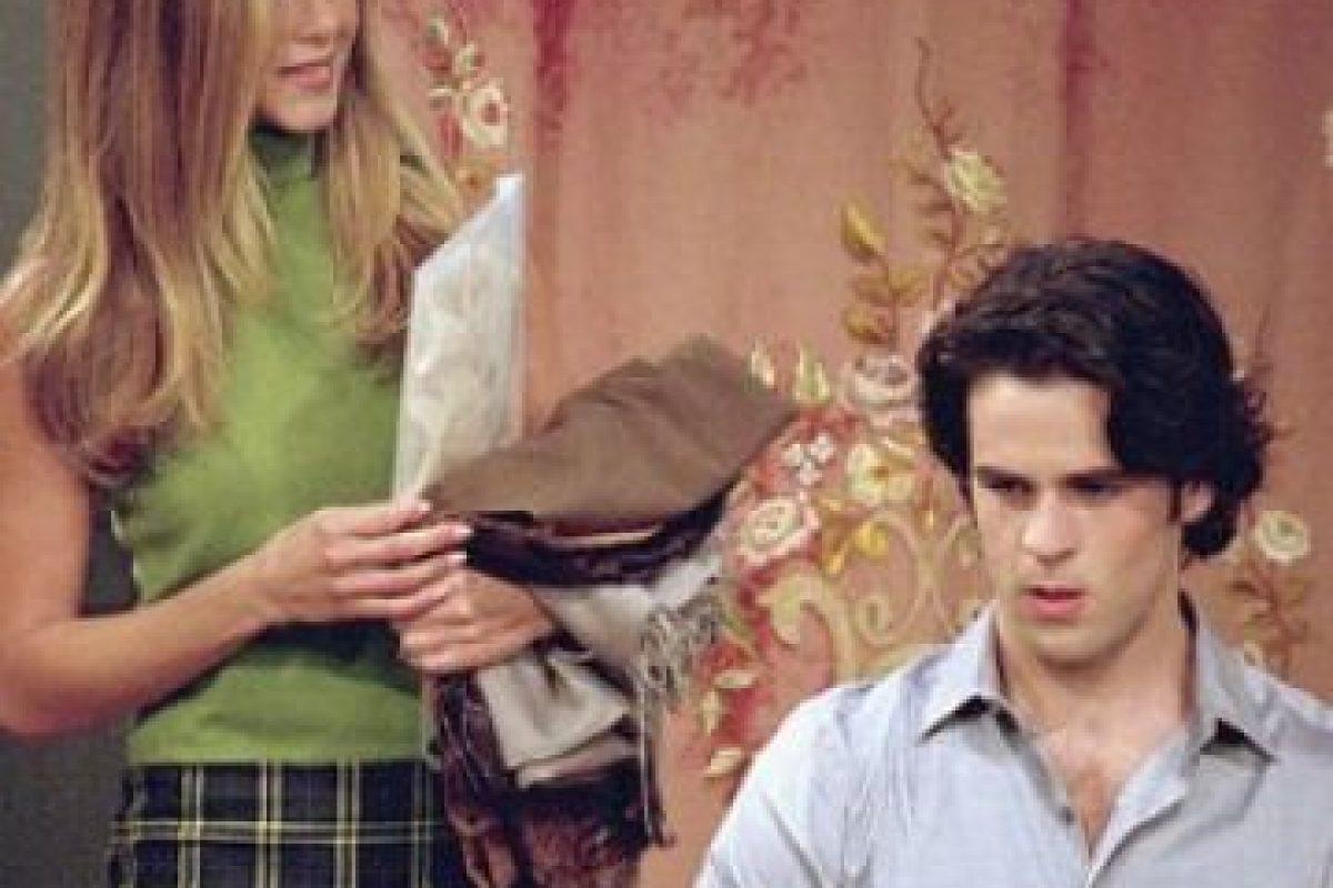 """Interpretó al joven asistente de """"Rachel"""", """" Tag"""". Foto:vía facebook.com/friends.tv"""