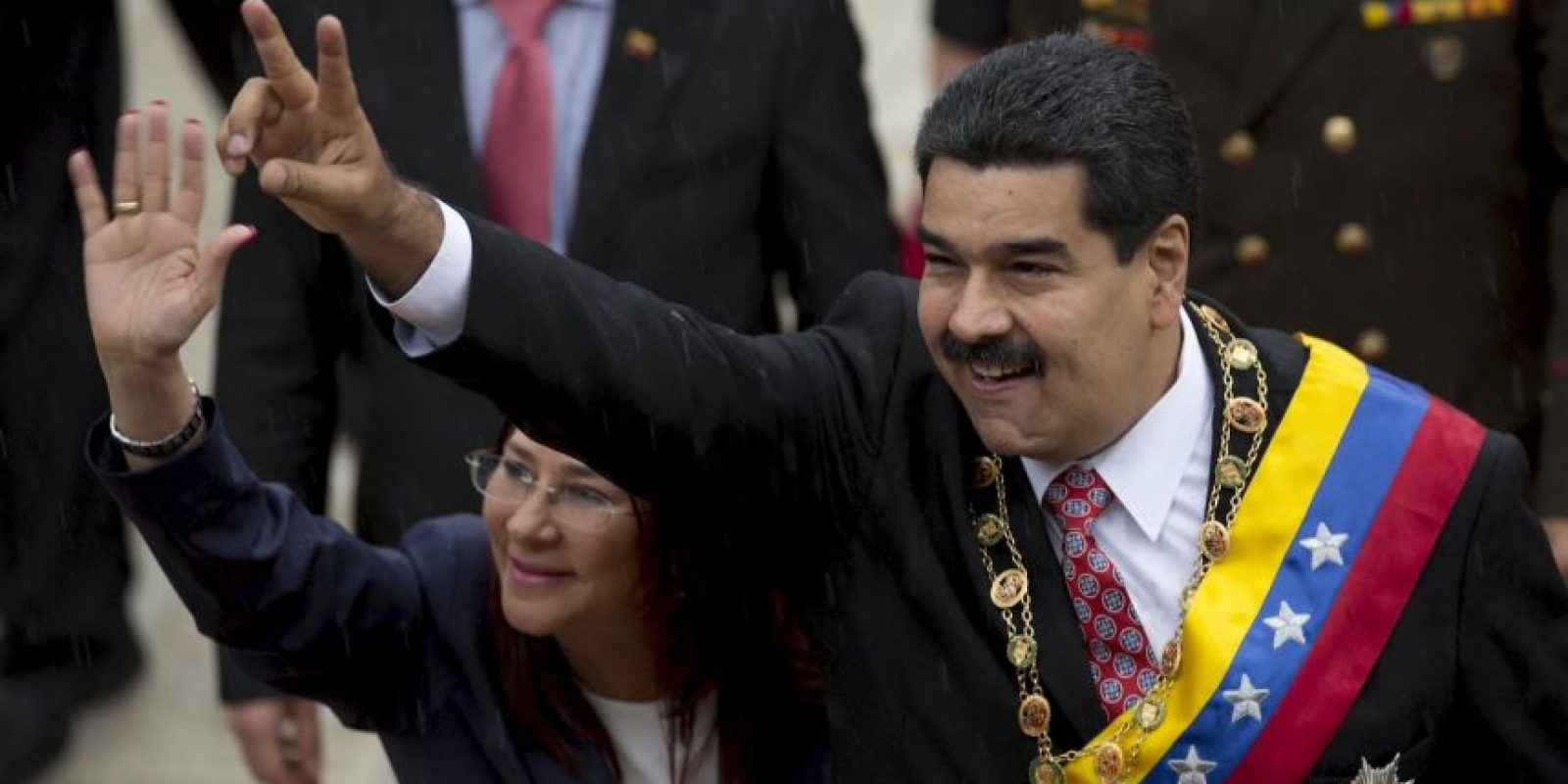 Opositores del gobierno venezolano pidieron observadores internacionales para las elecciones del 6 de diciembre. Foto:AP