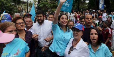 Sin embargo, algunos como la exdiputada Maria Corina Machado, fueron inhabilitados de ejercer cargos públicos Foto:AP