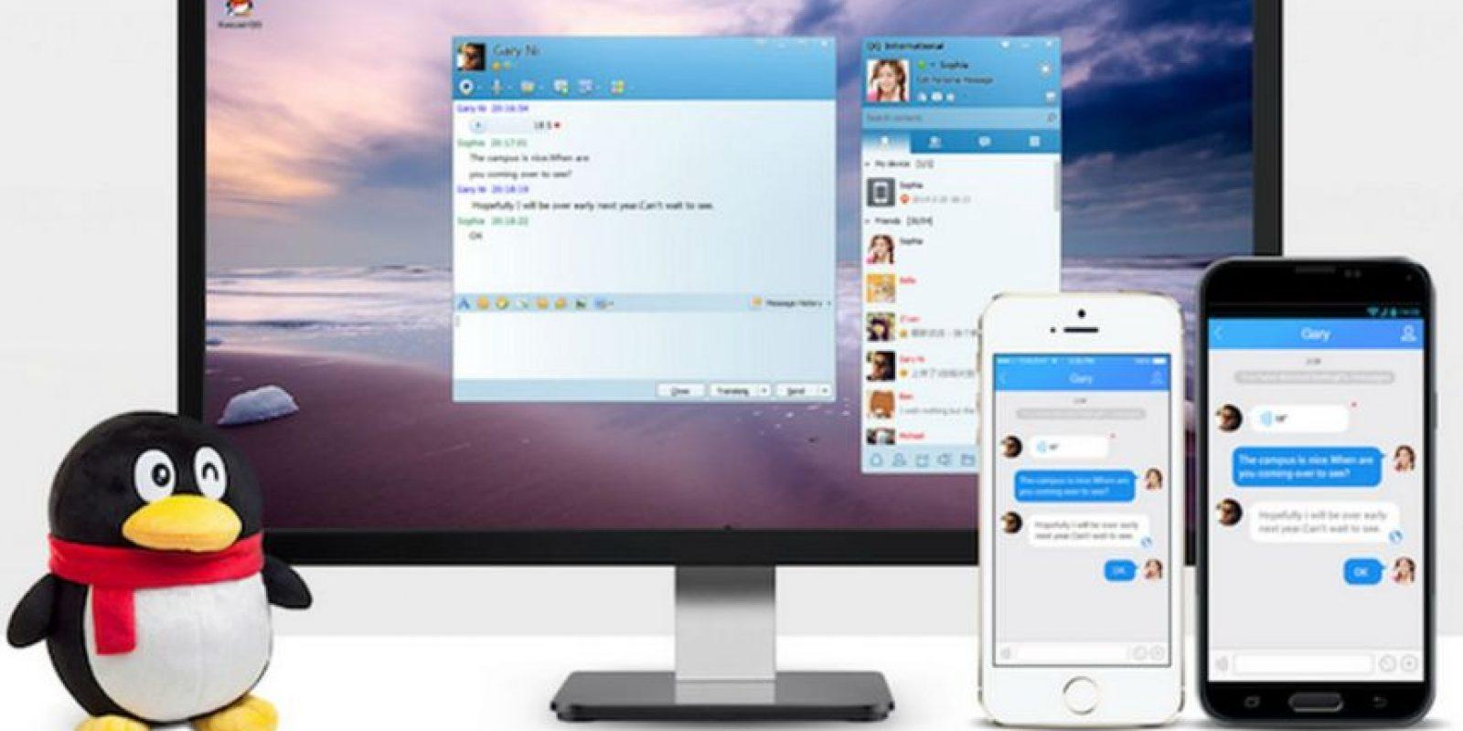 QQ International tiene 829 millones de usuarios. Foto:Tencent