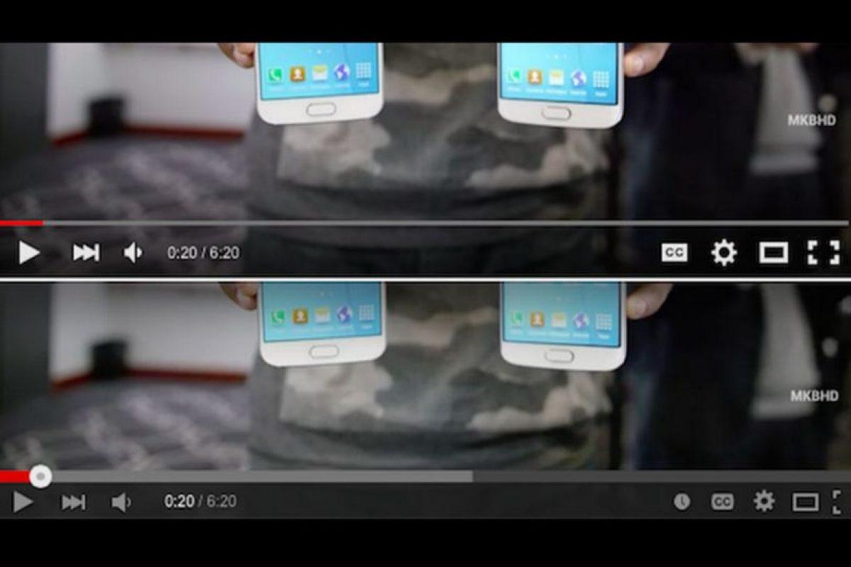 El antes y el ahora del reproductor de YouTube Foto:YouTube