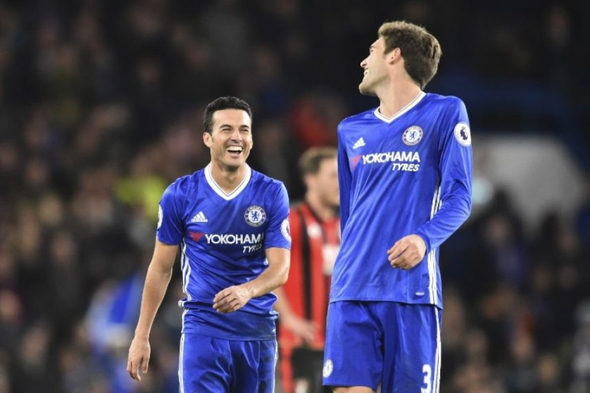 El Chelsea sigue con una racha que lo ha convertido en favorito para quedarse con el título. Foto:AFP