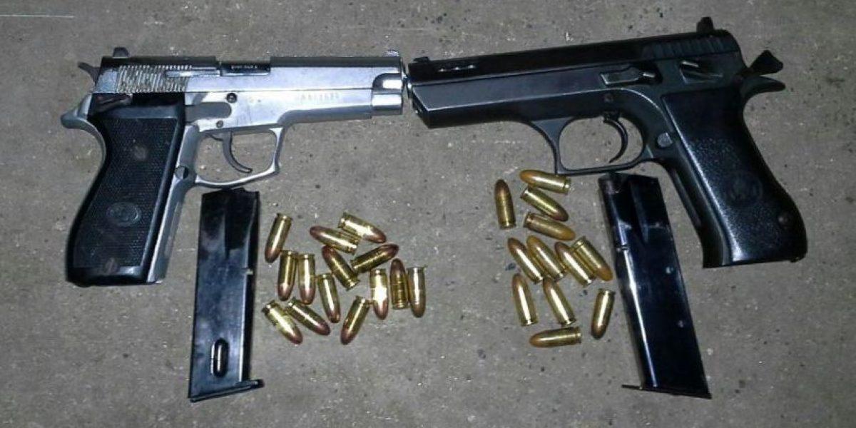 ¿Qué sanción se aplica contra quienes hacen disparos al aire?