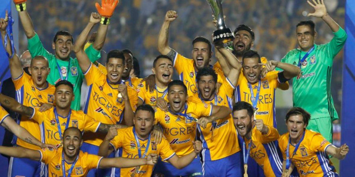 VIDEO. Tigres es el campeón del Torneo Apertura 2016 de México