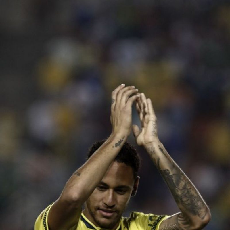 Neymar firmó en forma reciente la ampliación de su contrato con el Barcelona. Foto:AFP