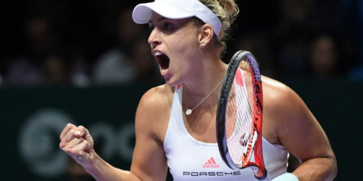 Angelique Kerber cierra el año como la número uno de la WTA