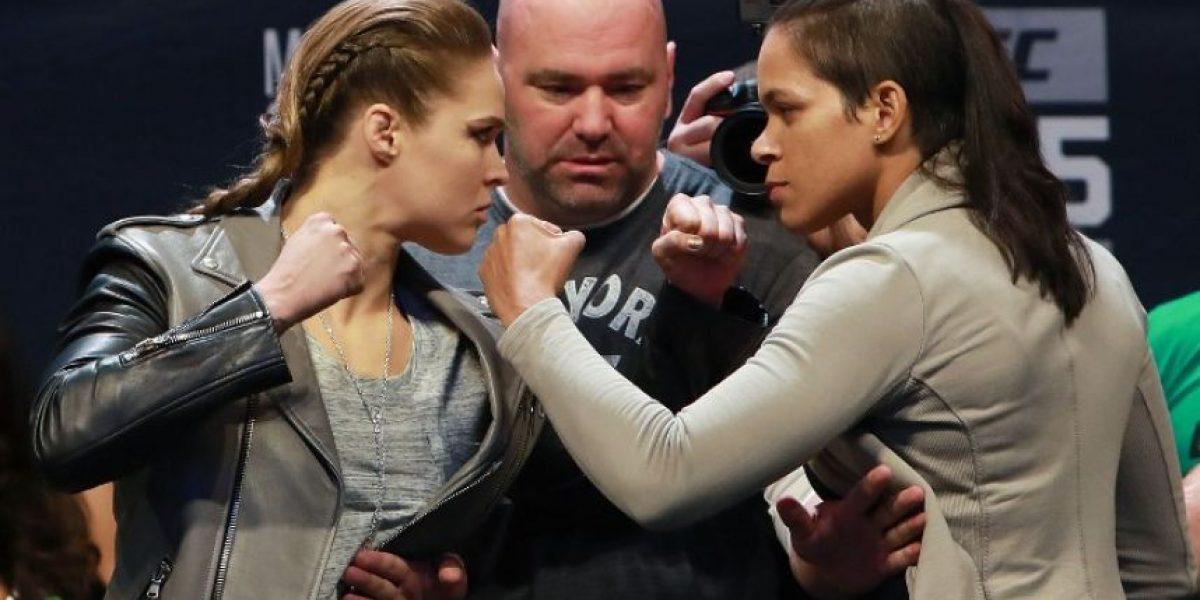 VIDEO. La pelea Rousey-Nunes acapara los reflectores este fin de año