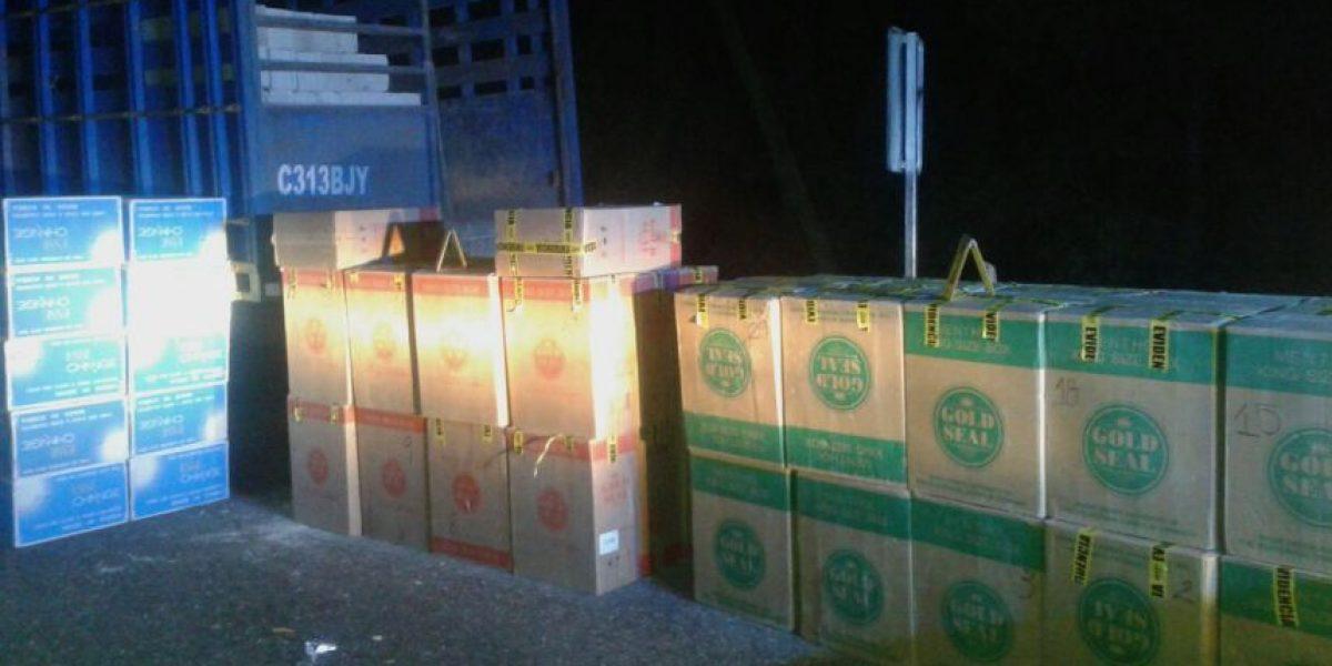 Cigarrillos de contrabando son incautados en Alta y Baja Verapaz