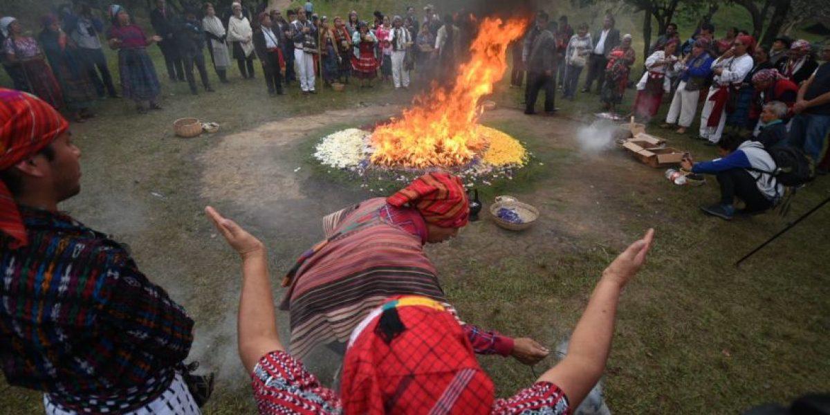 Con el fuego sagrado comienza la conmemoración de los 20 años de los Acuerdos de Paz