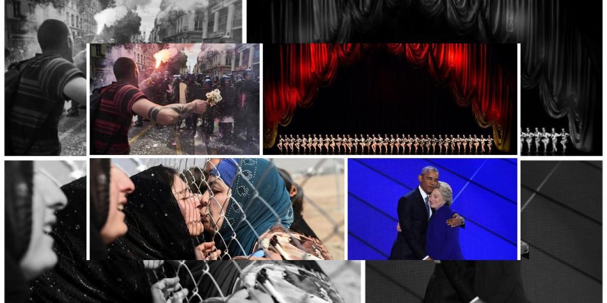Las mejores fotos de AFP de 2016