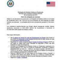 Foto:Embajada de Estados Unidos en Guatemala