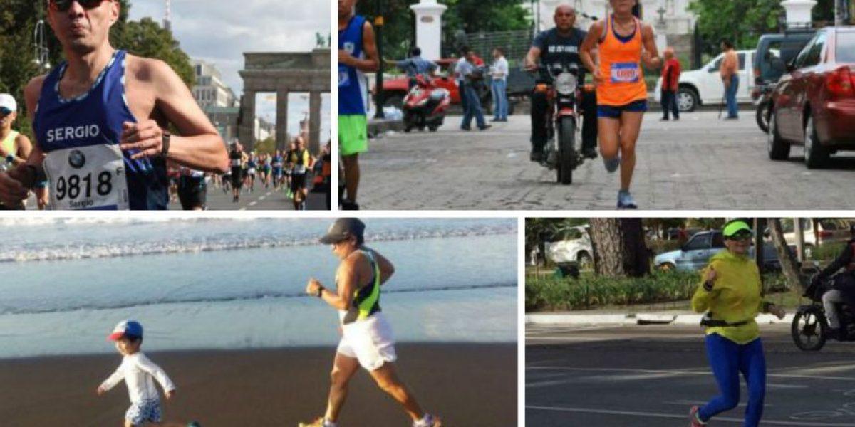 San Silvestre 2016: Amílcar Montejo y otros dos entusiastas