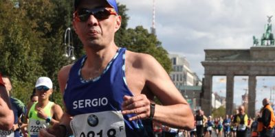 Sergio Dávila, Maratón Berlín