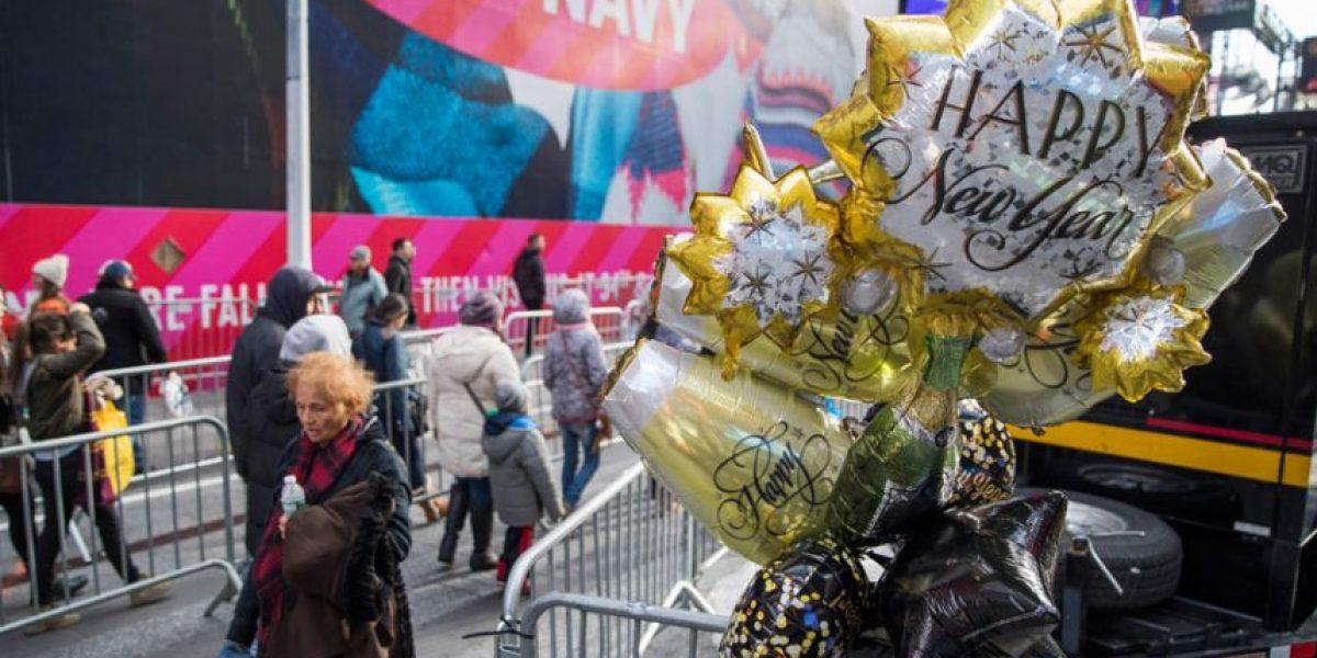 Miles llenarán Times Square para celebrar el Año Nuevo
